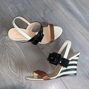 Kate Spade Colour Block Sandal Size 7